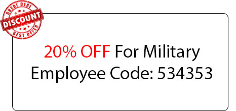 Military Employee Discount - Locksmith at El Dorado Hills, CA - Locksmith El Dorado Hills Ca